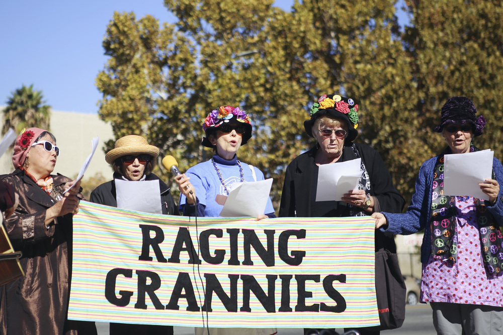 Raging Grannies of San Jose