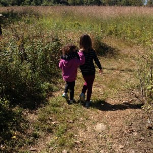 kids in fall